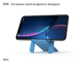 ION BLUE Original phone stand fits all Wallets & Phones - Designed to Disappear