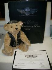 Steiff HARLEY DAVIDSON 100th Anniversary Bear w/Box Certificate of Authenticity