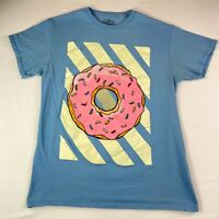 The Young And Wild T Shirt Donuts Graphic Men's Size M Medium #732 Made In USA