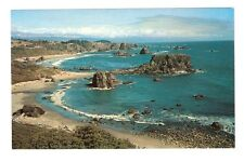 Chrome Postcard,Harris Beach State Park,Oregon,U.S.Coast Highway 101