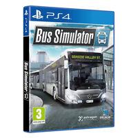 Bus Simulator PlayStation PS4 2019 EU English Factory Sealed