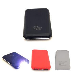 MINI BATTERIA ESTERNA POWERBANK 5000mAh CARICATORE SMARTPHONE RAPIDO USB LD-9082