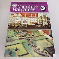 Miniature Wargames Number 50, July 1987 oop SC