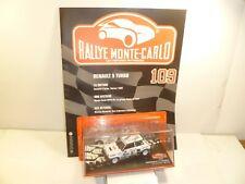 1/43  IXO  rally monte-carlo RENAULT 5 TURBO    / AVEC FASCICULE ET HISTOIRE