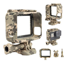 Camouflage Cam Protective Housing Case Cover Border Frame Mount For GoPro Hero 5