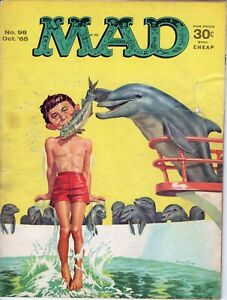 Mad Magazine #98 Oct 1965 Silver Age Classic Humor Mag