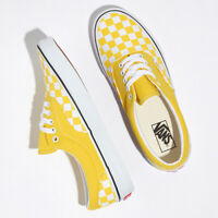 Vans Colour Theory UA Checkerboard Era Sneakers Shoes Yellow VN0A4BV4VXL US 4-13