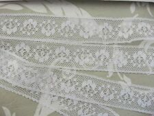 Exclusive English Nottingham Cotton Cluny Lace Vintage style-White FC231 Bridal,
