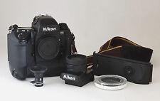 Nikon F5 35 mm SLR Film Camera pacchetto-MF28 i dati di nuovo-SB-29s TTL Flash Macro