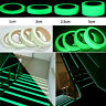 10m Self Adhesive Luminous Photoluminescent Tape Glow In Dark Warning Decor Safe