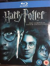 Harry Potter, Years 1, 2, 3, 4, 5, 6, 7 & 8 Blu ray Region 0, 11 disc Box Set