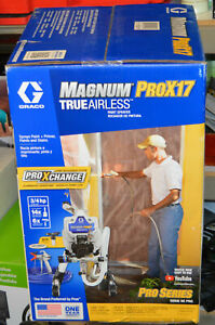 NEW Graco 17G177 Magnum ProX17 Stand Paint Sprayer TrueAirless Pro Series QIK SH