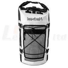 LEXTEK Waterproof Drybag Backpack 30 Litre Motorcycle Bike Scooter Bag Rucksack