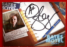 BATES MOTEL - KEEGAN CONNOR TRACY as Miss Watson - Autograph Card - AKC1