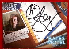 BATES MOTEL - KEEGAN CONNOR TRACY as Miss Watson - Autograph Card - AKC1