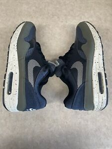 Nike Air Max 1 Special Edition Nylon Shoes AO1021 200 Olive Cream Black Size 9.5