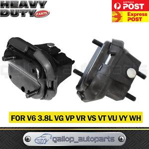 Pair Engine Mount for Holden Commodore V6 Ute VG VP VR VS VT VU VY High Quality