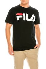 FILA Men's T-shirt Classic Logo Athletic Sport  Crew Neck Short Sleeve trendy in