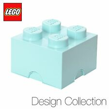 Lego ® Support de stockage brique (4 Rivets) - Édition Limitée Design Collection-Aqua