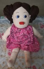 """Teach A Bodies Child Girl 16"""" Sex Ed Anatomical Instructional Doll 1981 Vintage"""