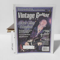 SRV Stevie Ray Vaughan VINTAGE GUITAR MAGAZINE December 2000 Cesar Diaz
