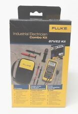 Fluke 87V E2 Industrial Electrician Combo Kit 87VE2   **New in Box**   MSRP $425