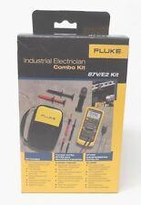 Fluke 87V E2 Industrial Electrician Combo Kit 87VE2   **New in Box**   MSRP $425