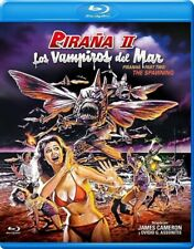 Piranha II The Spawning aka Flying Killers (1981) Blu Ray EU Import New/Sealed