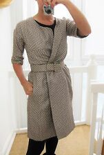 100% originale MARNI Cappotto Coat Impermeabile IT 40 in D.G. 34/36 a 36/38