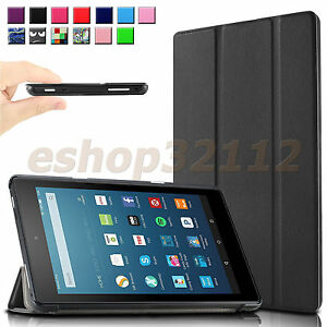 Slim Case Cover For All-New Amazon Fire 7 / HD 8 / HD 10 7th 2017 2018 Tablet