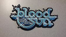 BLOOD OF THE SUN - LOGO PATCH  saint vitus, hint of death, speedealer