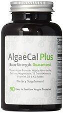 Natural Calcium And Magnesium Supplement - AlgaeCal Plus (90 Capsules) - USDA