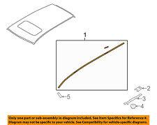91046XA01B Subaru Molding assy rooflh 91046XA01B