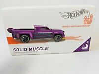 Hot Wheels ID 2018  Nightburnerz  Limited Run Collectible Diecast 1/64 Series 1