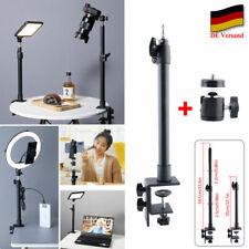 Tisch Kamera Halterung Einstellbar Lichtstativ C-klemme Stativ mit Kugelkopf DHL
