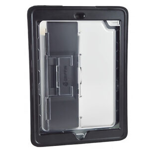 Genuine GRIFFIN Slim Survivor Rugged Case Cover Screen Protector For iPad Air 1