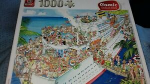 Comic Collection King Jigsaw Puzzle.