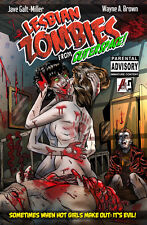 Lesbian Zombies from Outer Space - Adult Horror Comedy Graphic Novel
