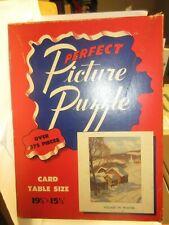 Perfect Picture Puzzle Vintage-Village in winter 375 pcs.