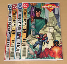 SUPERMAN RETURN TO KRYPTON II #1 - 4 NM COMPLETE STORY ARC SILVER AGE KRYPTON DC