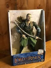 "Legolas 12"" figure in box Lord of the Rings The Return of the King with box"