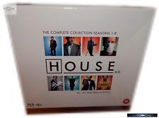 Dr. House Komplettbox - Staffel 1,2,3,4,5,6,7+8 (1-8) [Blu-Ray] Deutsch(er) Ton