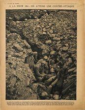 Cote 304 Bataille de Verdun Poilus Soldats Tranchées Assauts Soldiers 1917 WWI