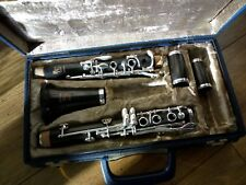 FULLY REFURBISHED  BOOSEY AND HAWKES EMPEROR INTERMEDIATE/PRO  A  WOOD  CLARINET