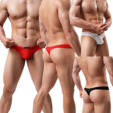 Men's G-strings Lingerie Underwear Breathable Thongs Soft Underpants Smooth