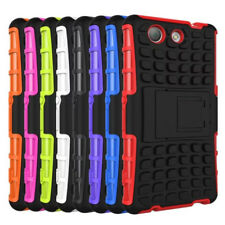Spider Double Colore TPU Stand Case Cover For Sony Z4 Mini