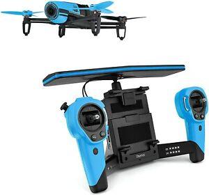 Parrot Bebop + Skycontroller Quadrokopter Kameradrohne Drone OVP Blau OHNE AKKUS