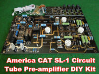 Audio USA CAT SL-1 Tube Pre-AMP HiFi Stereo Preamplifier DIY Kit for HIFI