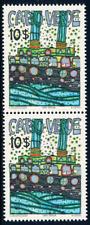 Cabo Verde - 1982 - Hundertwasser / BL2V - MNH