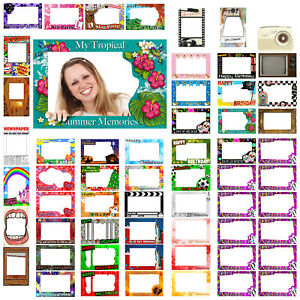 Photo Booth All Occasions Party Theme Selfie Novelty Gift Frame Prop Decoration